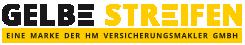 HM Versicherungen - Gelbe Streifen